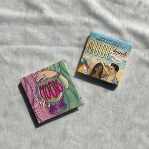 the balm eyeshadow & moods eyeshadow